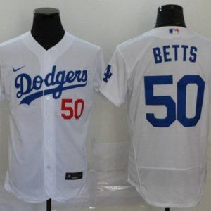 Men's Los Angeles Dodgers Mookie Betts Jersey   50